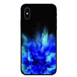 Калъфче за iPhone 46 Синя експлозия