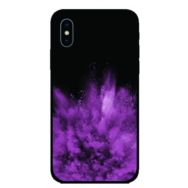 Калъфче за iPhone 47 Лилава експлозия