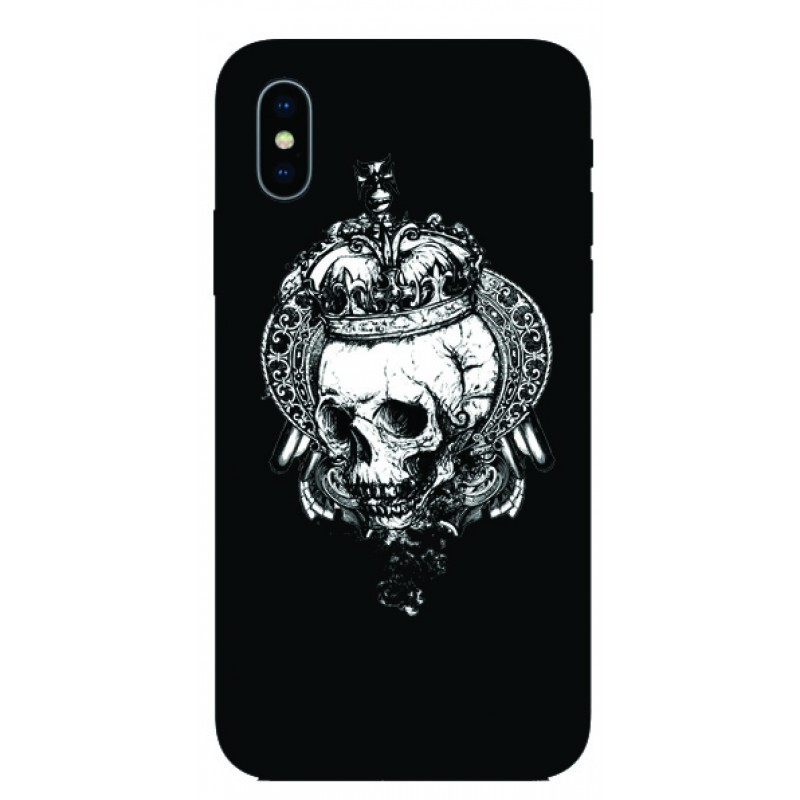 Калъфче за iPhone 51 Череп с корона