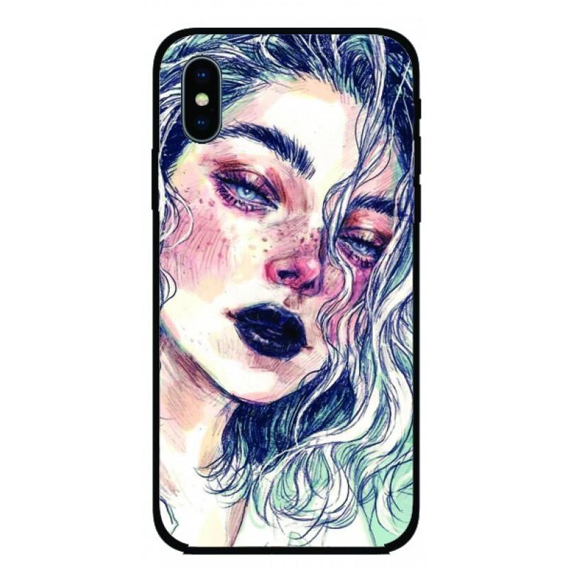 Калъфче за iPhone 56 момичето с белите коси