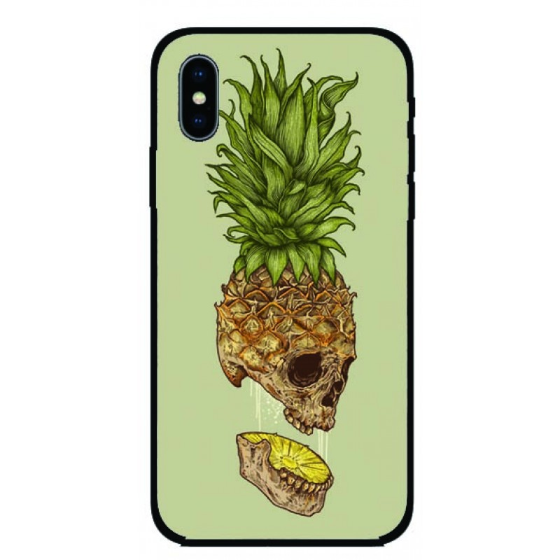 Калъфче за iPhone 97 ананас и череп