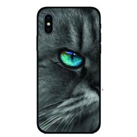 Калъфче за iPhone 101+1  синеоко коте