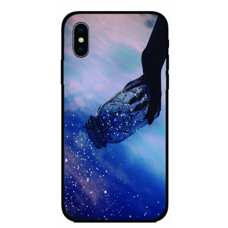Калъфче за iPhone 101+32 звезди в буркан
