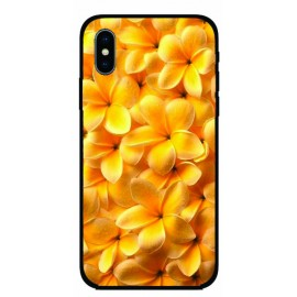 Калъфче за iPhone 101+36 жълти цветя