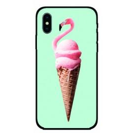 Калъфче за iPhone 101+41 сладоледено фламинго
