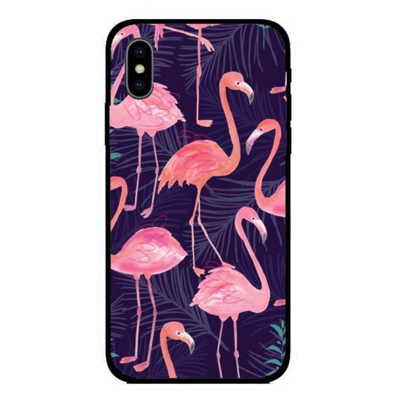 Калъфче за iPhone 101+54 фламинго