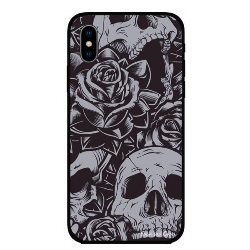 Калъфче за iPhone 101+92 черепи и рози