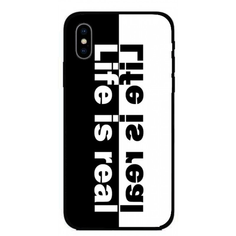 Кейс за iPhone 258 life is real