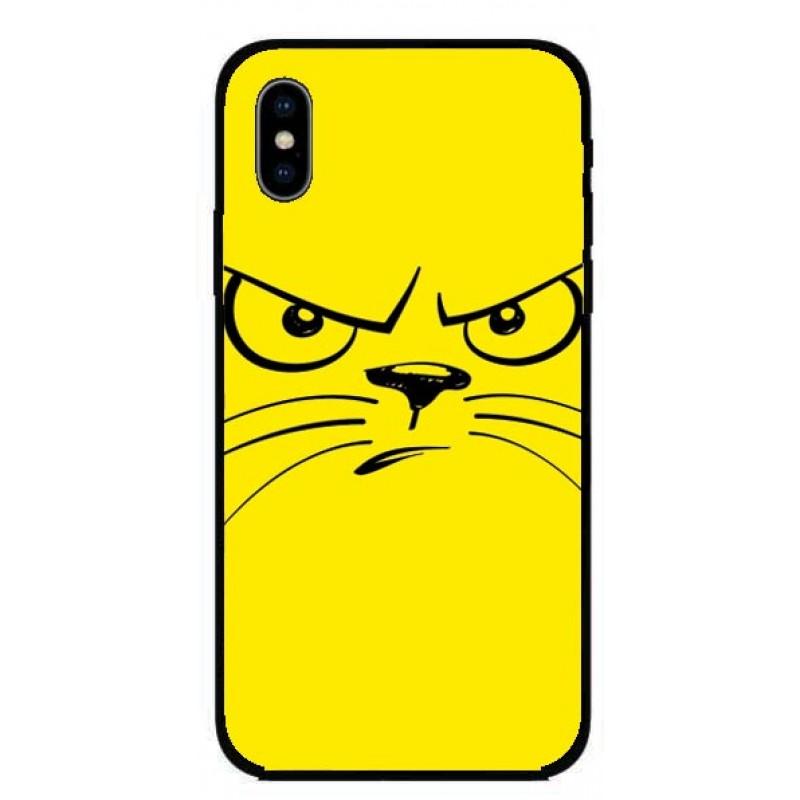 Кейс за iPhone 293 ядосана котка