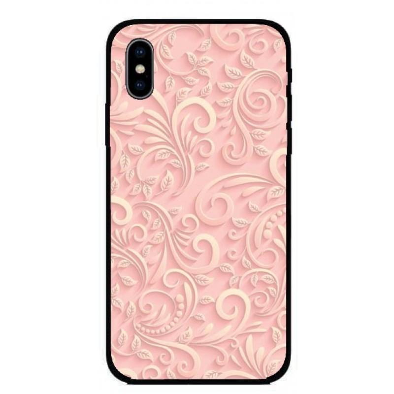 Калъфче за iPhone 222 бледо розов