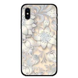 Калъфче за iPhone 227 бледо розови цветя