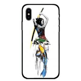 Калъфче за iPhone 243 жена самурай