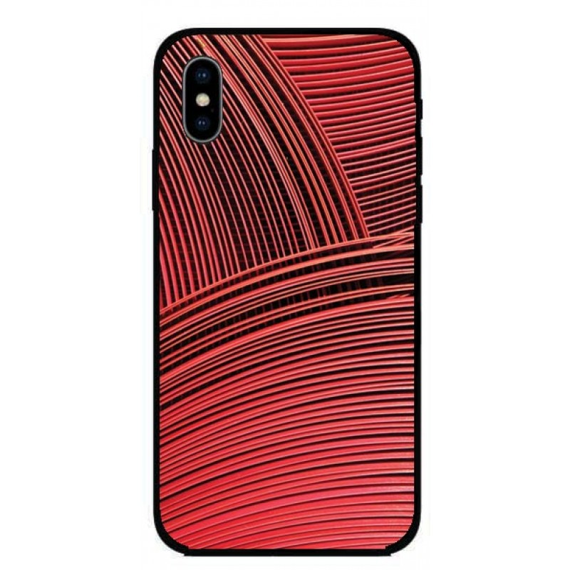 Кейс за iPhone 314 червени ленти