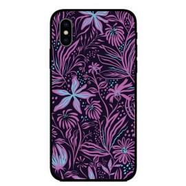 Кейс за iPhone 347 лилави цветя