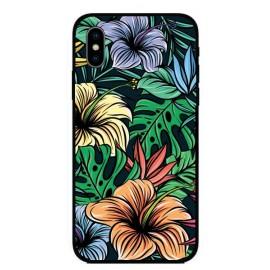 Кейс за iPhone 386 арт цветя