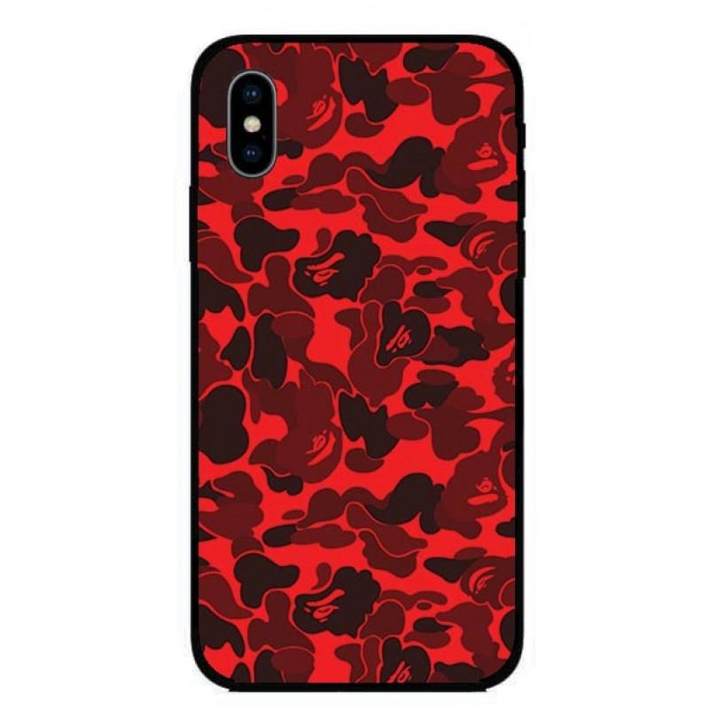 Кейс за iPhone 449 червен