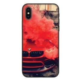 Кейс за iPhone 535 Червено BMW