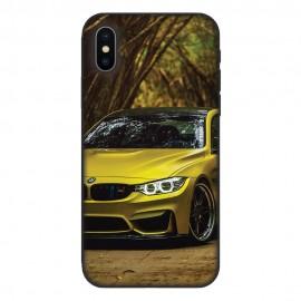 Кейс за iPhone 536 Жълто BMW