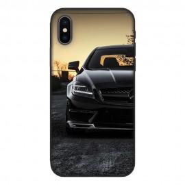 Кейс за iPhone 538 Black Merceders