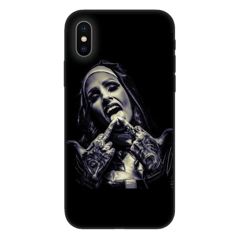 Кейс за iPhone 551 Crazy Nun