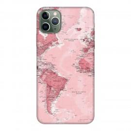 iPhone 11 Pro Max кейс Розова карта