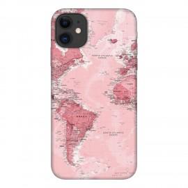iPhone 11 кейс Розова карта