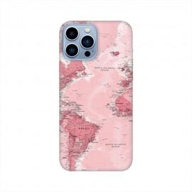 iPhone 13 Pro Max кейс Розова карта
