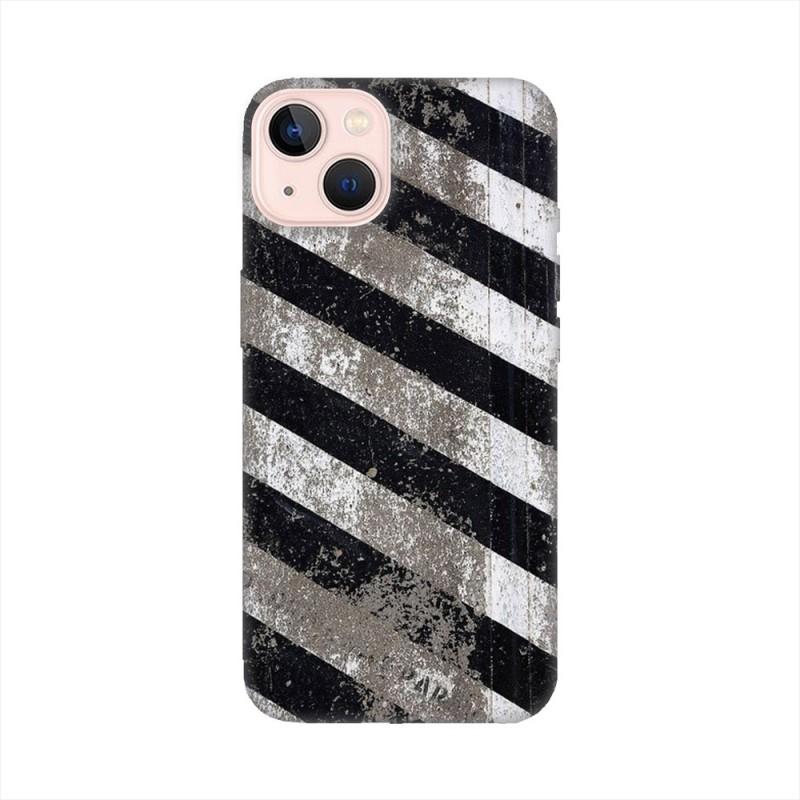 iPhone 13 mini кейс Черно и бяло