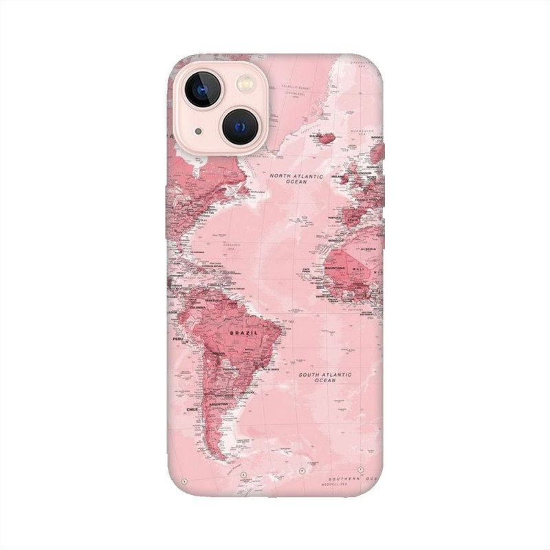 iPhone 13 mini кейс Розова карта