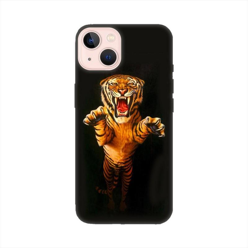 iPhone 13 mini кейс Тигър