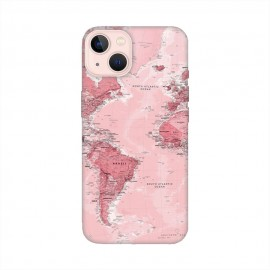 iPhone 13 кейс Розова карта
