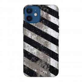 iPhone 12 mini кейс Черно и бяло