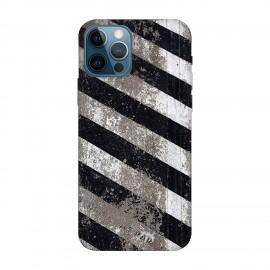 iPhone 12 Pro max кейс Черно и бяло