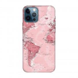 iPhone 12 Pro max кейс Розова карта