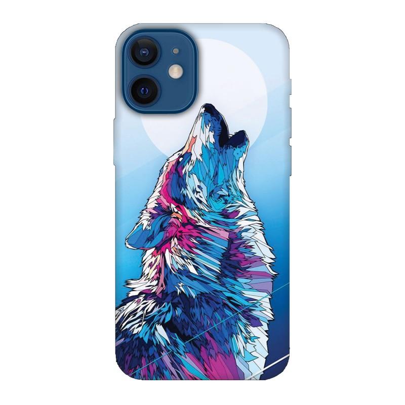 Кейс за iPhone 12 Вълк
