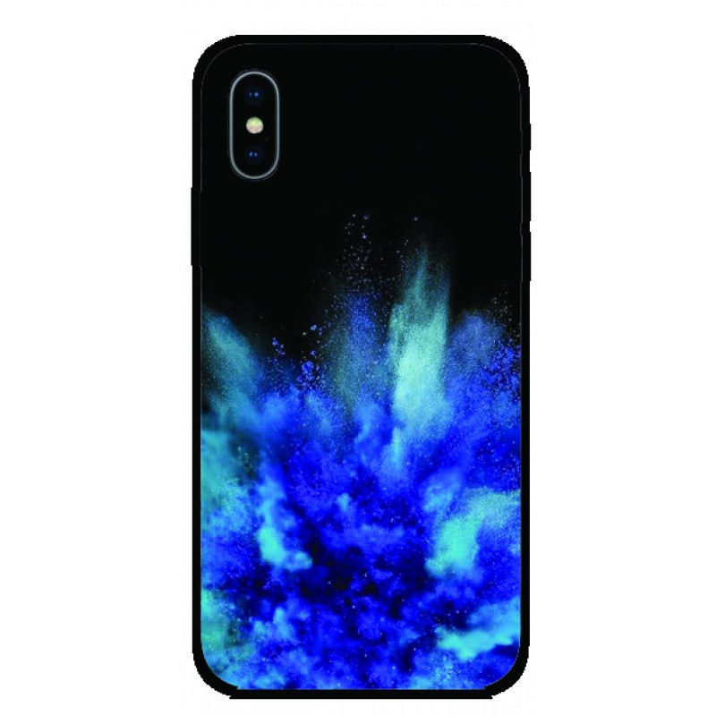 Калъфче за Huawei 46 Синя експлозия