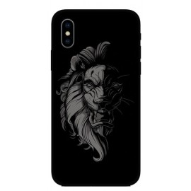 Калъфче за Huawei 101+97  Black'n'white lion