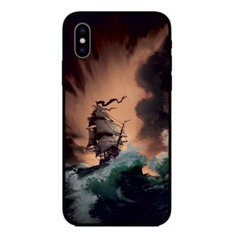 Калъфче за Huawei 250 кораб картина
