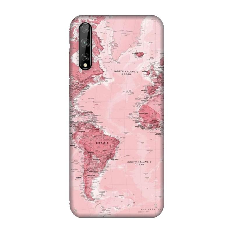 Huawei P Smart S кейс Розова карта