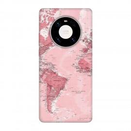 Huawei Mate 40 Pro кейс Розова карта