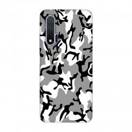 Huawei Nova 6 кейс Камуфлажен