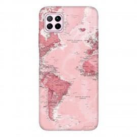 Huawei P40 lite кейс Розова карта