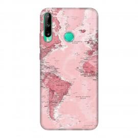 Huawei P40 lite E кейс Розова карта