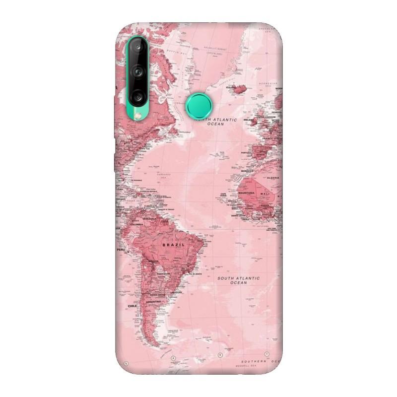 Кейс за Huawei P40 lite E Розова карта