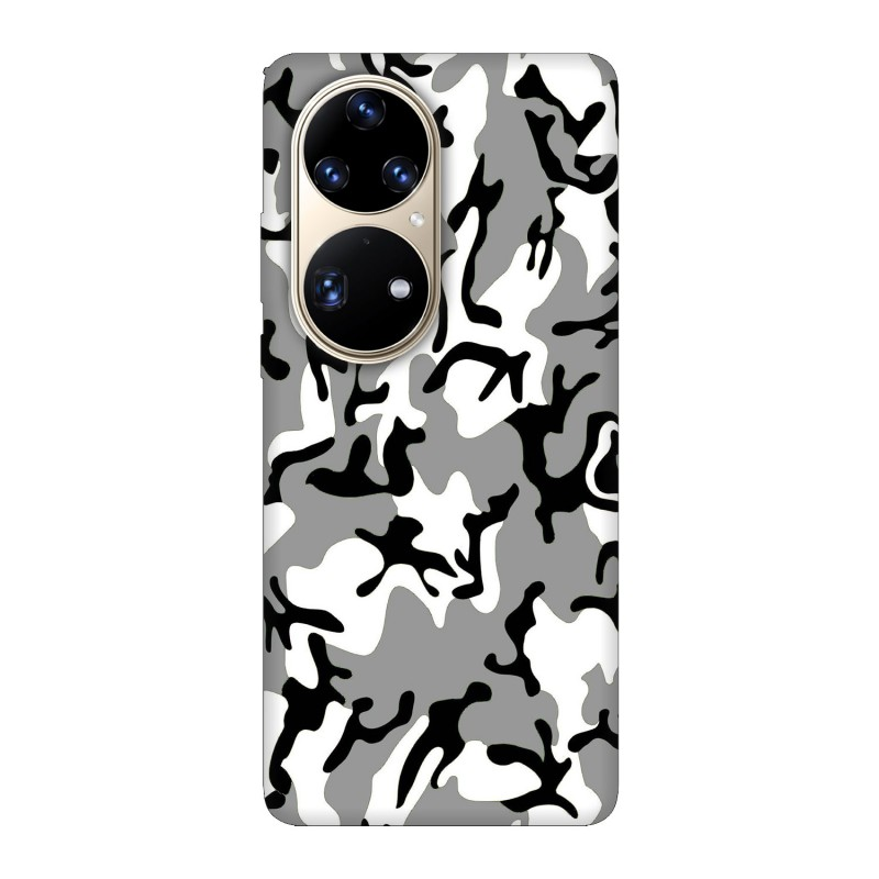 Huawei P50 Pro кейс Камуфлажен
