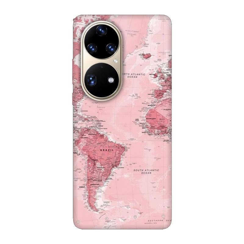 Huawei P50 Pro кейс Розова карта