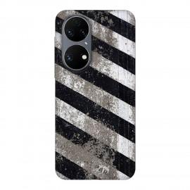Huawei P50 кейс Черно и бяло
