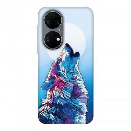 Huawei P50 кейс Вълк
