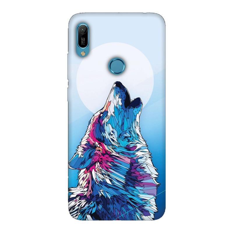 Huawei Y6 2019 кейс Вълк