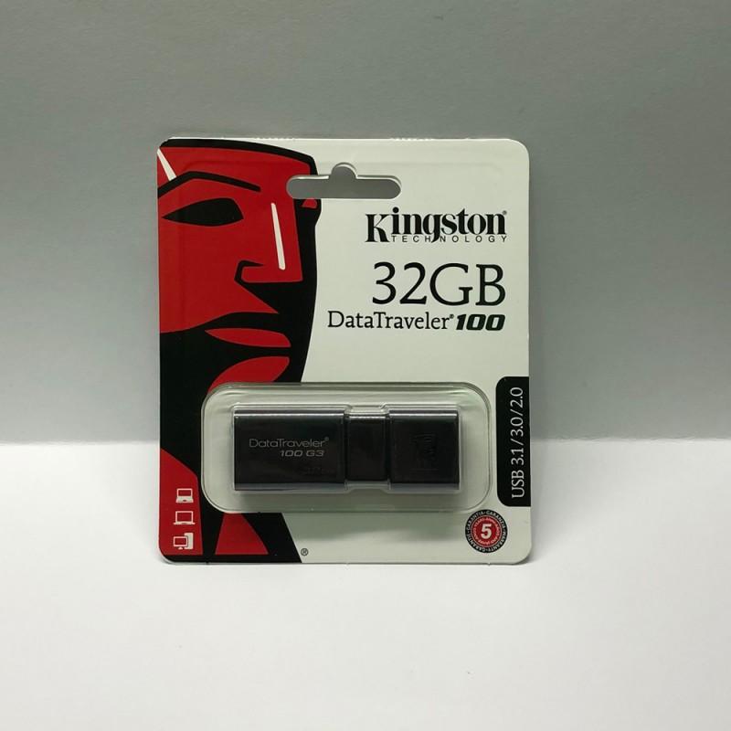 USB флаш памет Kingston DataTraveler 100 g3 32GB